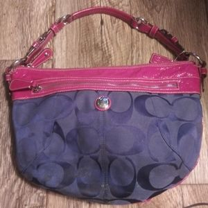 Coach Red & Blue bag